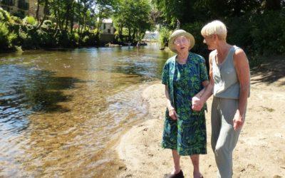 Volunteer Pam Warren gains recognition for all her hard work